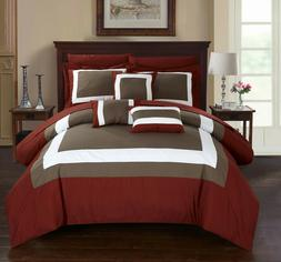 Chic Home 10-Piece Darren Complete Bed In a Bag Comforter Se