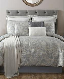 VCNY Home 10 Piece QUEEN Comforter Set Cosmo Slate Grey L961