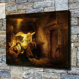 "12""x16""Angelic comfort HD canvas photo home decor wall Art p"