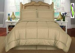 Sweet Home Collection 8Piece Bed-In-A-Bag With Vine Comforte