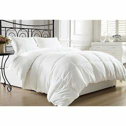 KingLinen White Down Alternative Comforter Duvet Insert with