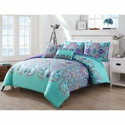 Amherst Boho Medallion Reversible Comforter Set by VCNY Home