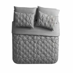 Atoll Circular Embossed Bed in a Bag by VCNY Home