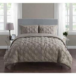 VCNY Home Atoll Embossed 7 Piece Bed-in-A-Bag Comforter Set