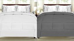 Sweet Home Collection Bed-In-Bag Comforter & Marble Print Sh