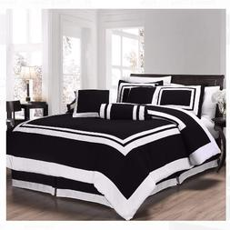 Bedding Comforter Set Full Size Luxurious Home Decor Super S