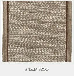 Casual Comfort Bordered Wool Country Cottage Home Classic Br