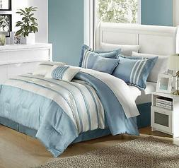 Chic Home Torino Pleated Piecing Luxury Bedding Collection 1