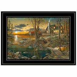 """Comforts of Home Collection"" By Jim Hansen Framed Print Bla"