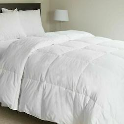 Lavish Home 100% Cotton Feather Down Bedding Comforter - Twi