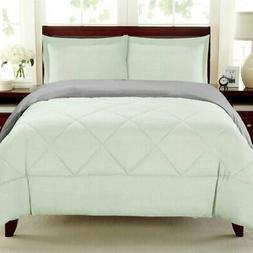 Down Alternative Reversible Comforter Set by Sweet Home Coll