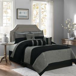 empire home black and gray suede 7
