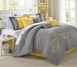 Chic Home Euphoria 8 Piece Comforter Set