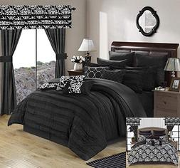 Chic Home Hailee 24 Piece Comforter Set Complete Bed in a Ba