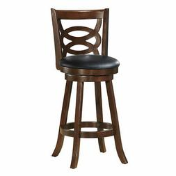 """Home Kitchen DIning Chairs 29""""Swivel Bar Stool Upholstered S"""