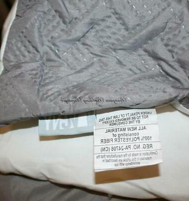 Queen Comforter Set White Quilted