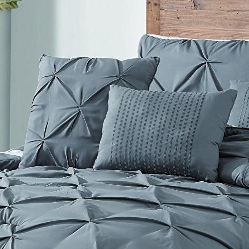 Avondale Manor Pinch Comforter Set, King,