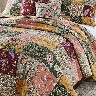Greenland Home Cotton Quilt 5-Piece King/Cal King,