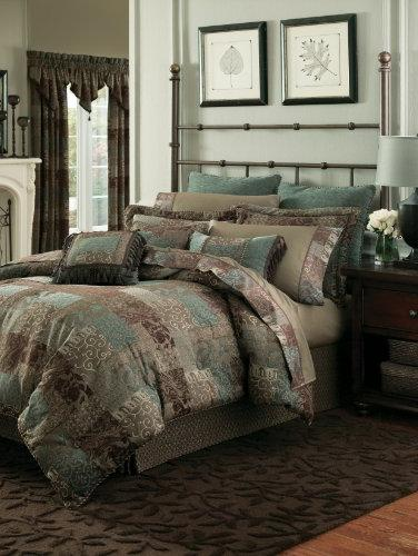 Croscill Galleria Brown Comforter