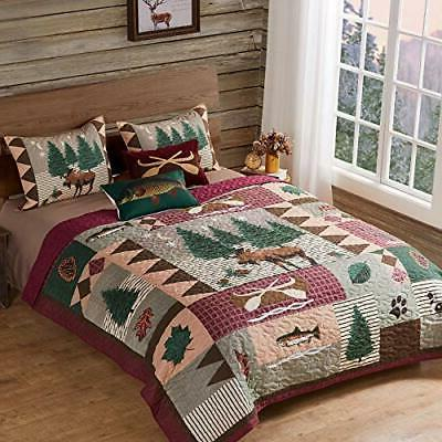 Greenland Home Lodge Quilt Queen