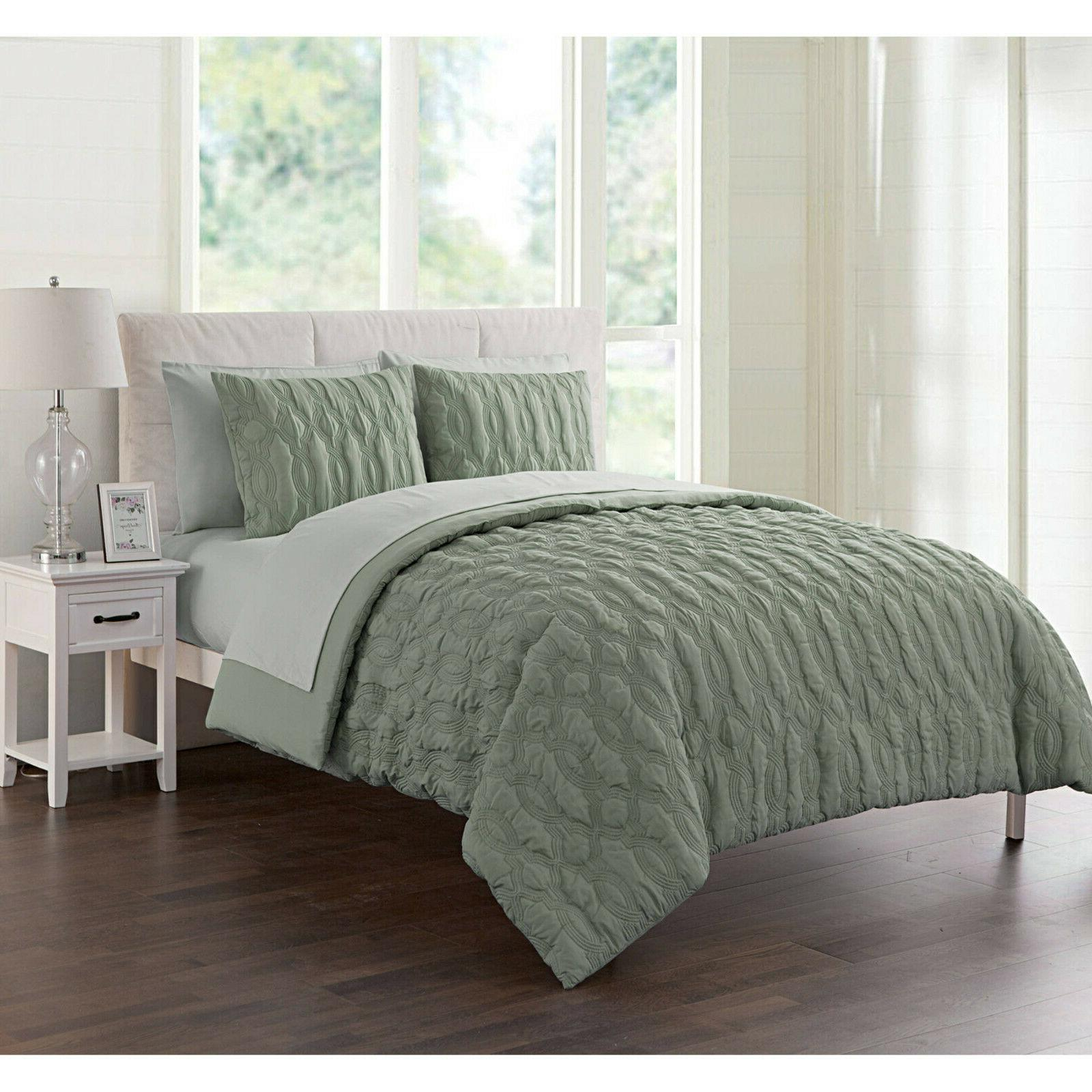 linx geometric embossed bed a