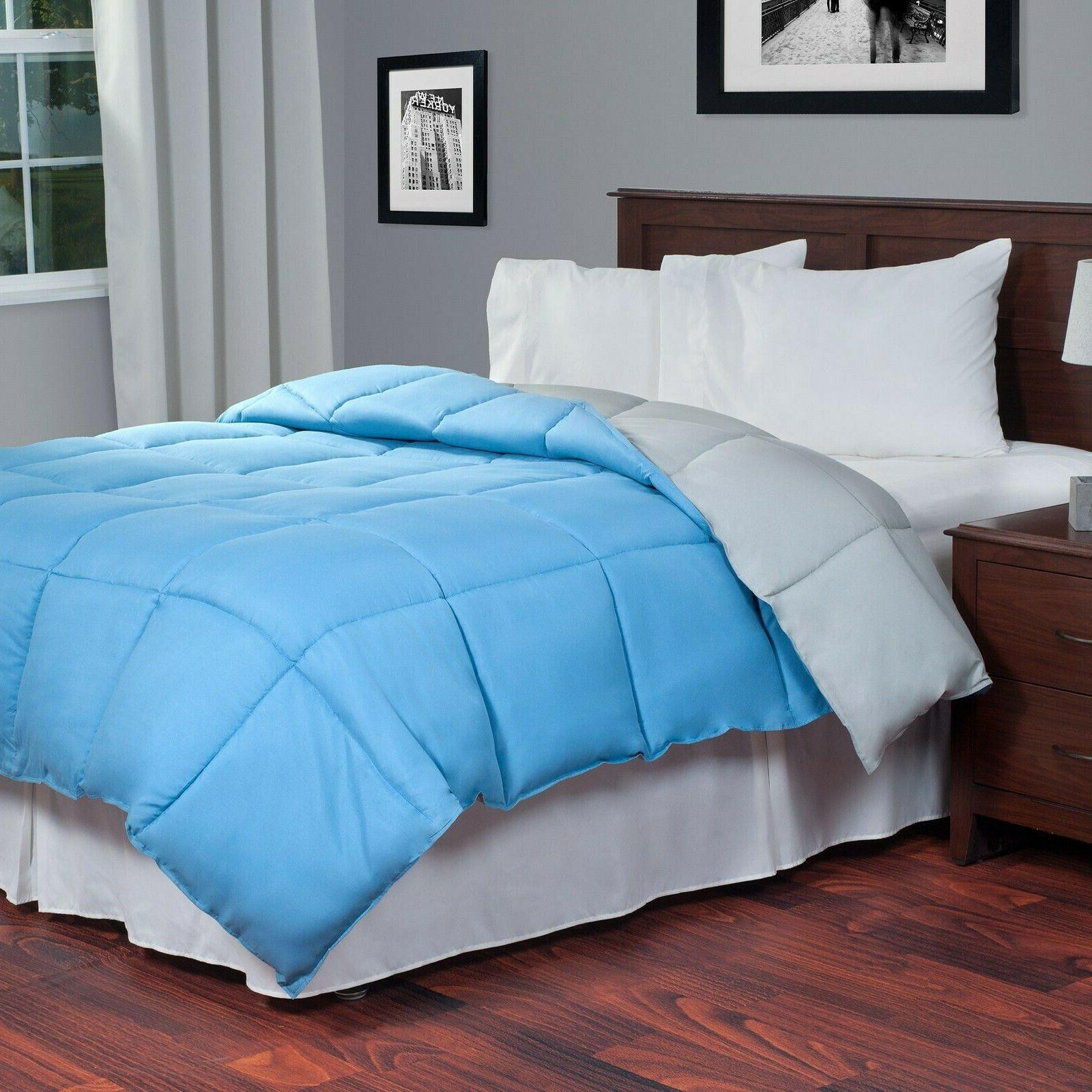 reversible down alternative comforter twin color choices