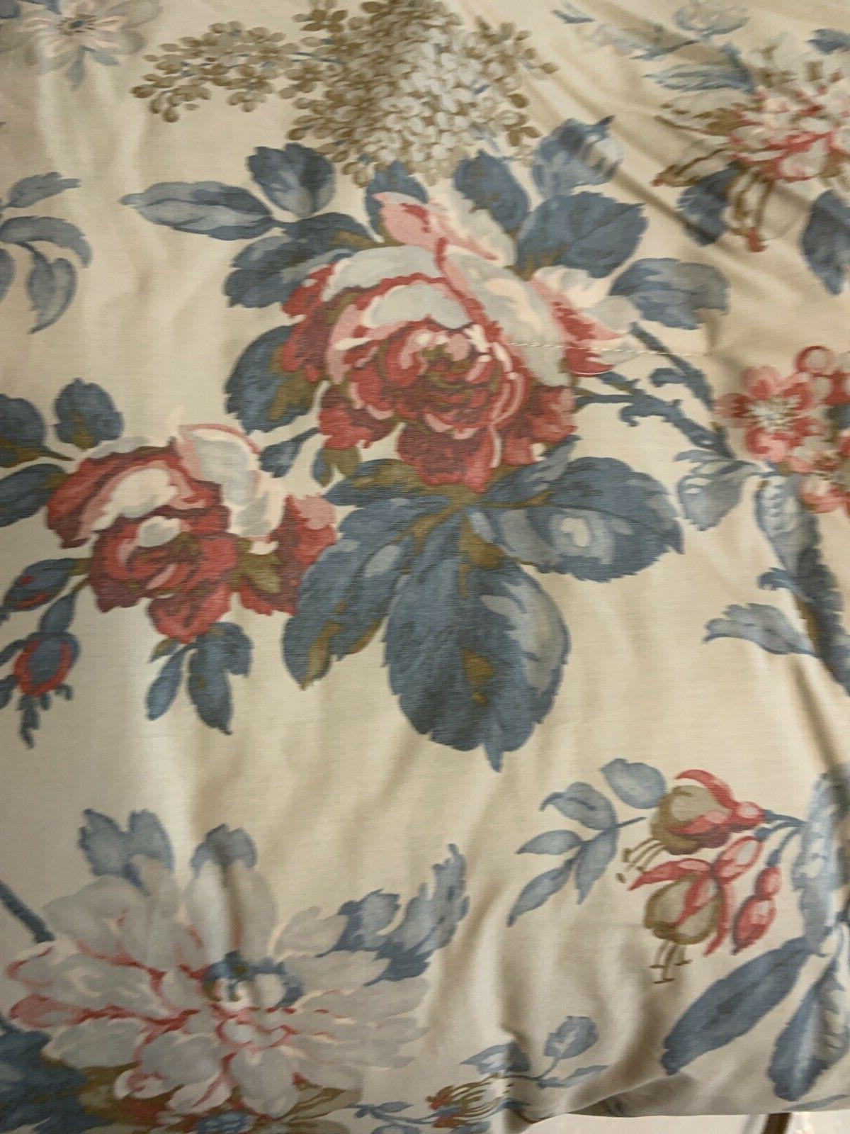 vintage home twin comforter lake house floral