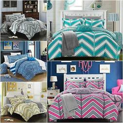Chic Home Laredo 10 Piece Comforter Set Reversible Chevron B