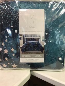 Vcny Home Navy 2pc Full Space Print Comforter Set Space Gala