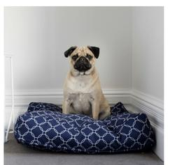 NEW BILLY BEDS BETHOVEN BED COVER NAVY MEDIUM PET PRODUCTS C