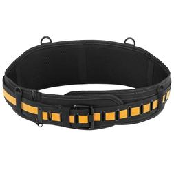 TOUGHBUILT Padded Belt With Steel Buckle and Back Support Bl