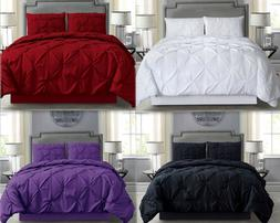 Empire Home Pintuck 4PC. Comforter Set With Matching Pillow