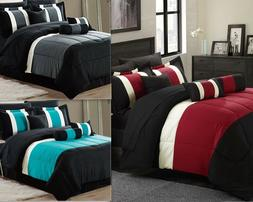 Empire Home Serenity 4PC. Comforter Set With Matching Pillow