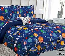 Superior Home Space Kids Comforter Bedding Set 6 Pc Twin /