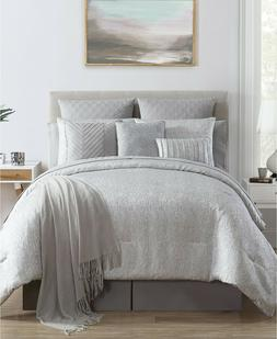VCNY Home Sterling Silver Jacquard Metallic 14-Pc. Comforter