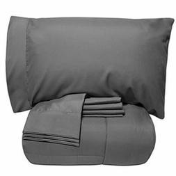 Sweet Home 7 Piece Bed In A Bag Comforter Including Sheet Se