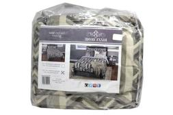 RIZZY HOME TACTON SPUR BT-1977 3 PC BEDDING SET KING COMFORT