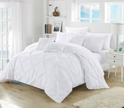 Chic Home Valentina 10 Piece Bed in a Bag Comforter Set Quee