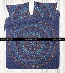 Wall Art Comfort India Color Blue  Home Decor Duvet Cover Ha