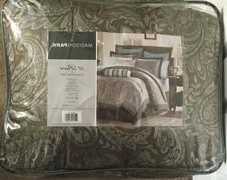 Madison Park Whitman Blue 12-piece Bed in a Bag with Sheet S